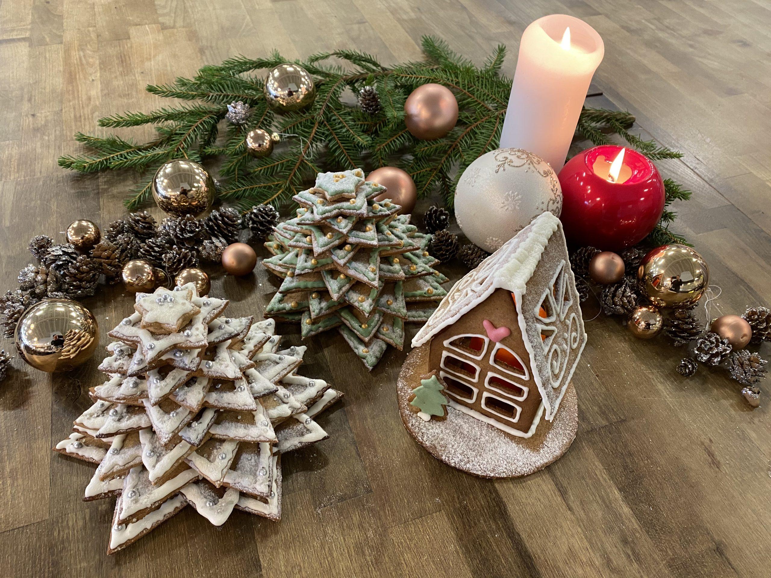 Joulun tuoksua ja tunnelmaa Butikin piparitaloilla